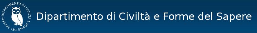 Dipartimento di Civiltà e Forme del Sapere