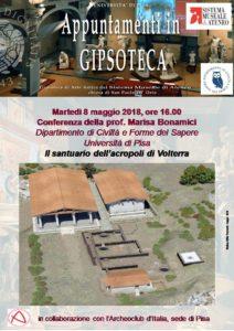 Locandina Il santuario dell'acropoli di Volterra