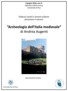 Locandina Archeologia dell'Italia medievale