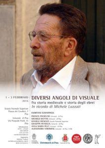 Locandina convegno in ricordo di Michele Luzzati