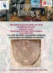 Conferenza La «villa dei Vetti»