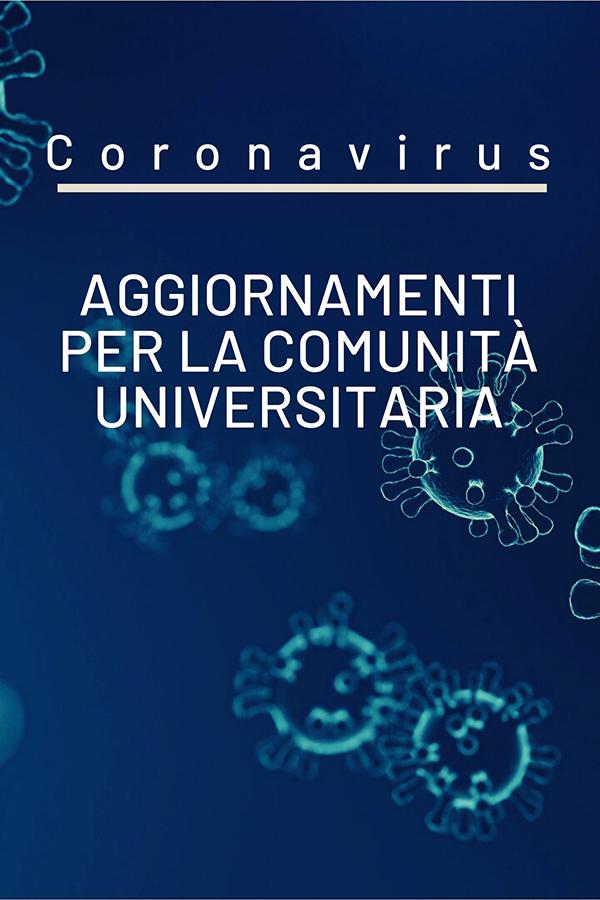 Coronavirus: aggiornamenti a seguito dell'evoluzione epidemiologica
