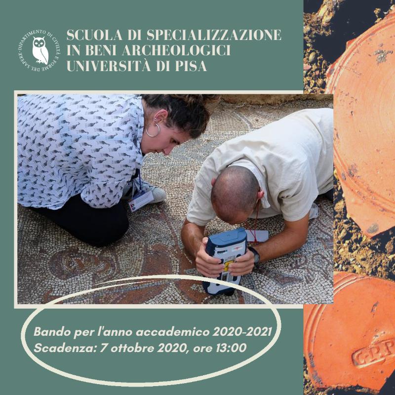 Scuola di Specializzazione in Beni Archeologici