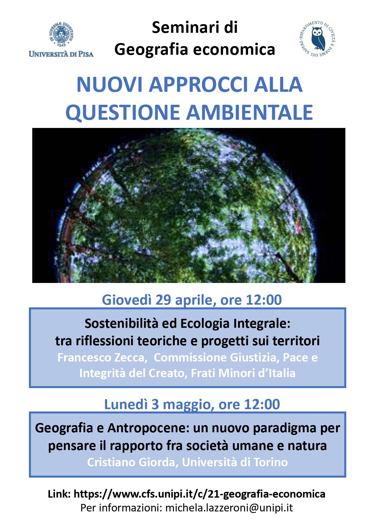 Seminari Questione ambientale