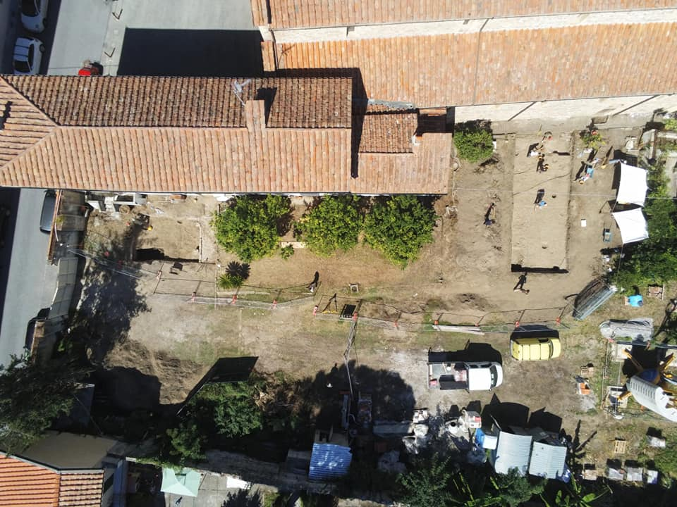 area san sisto drone