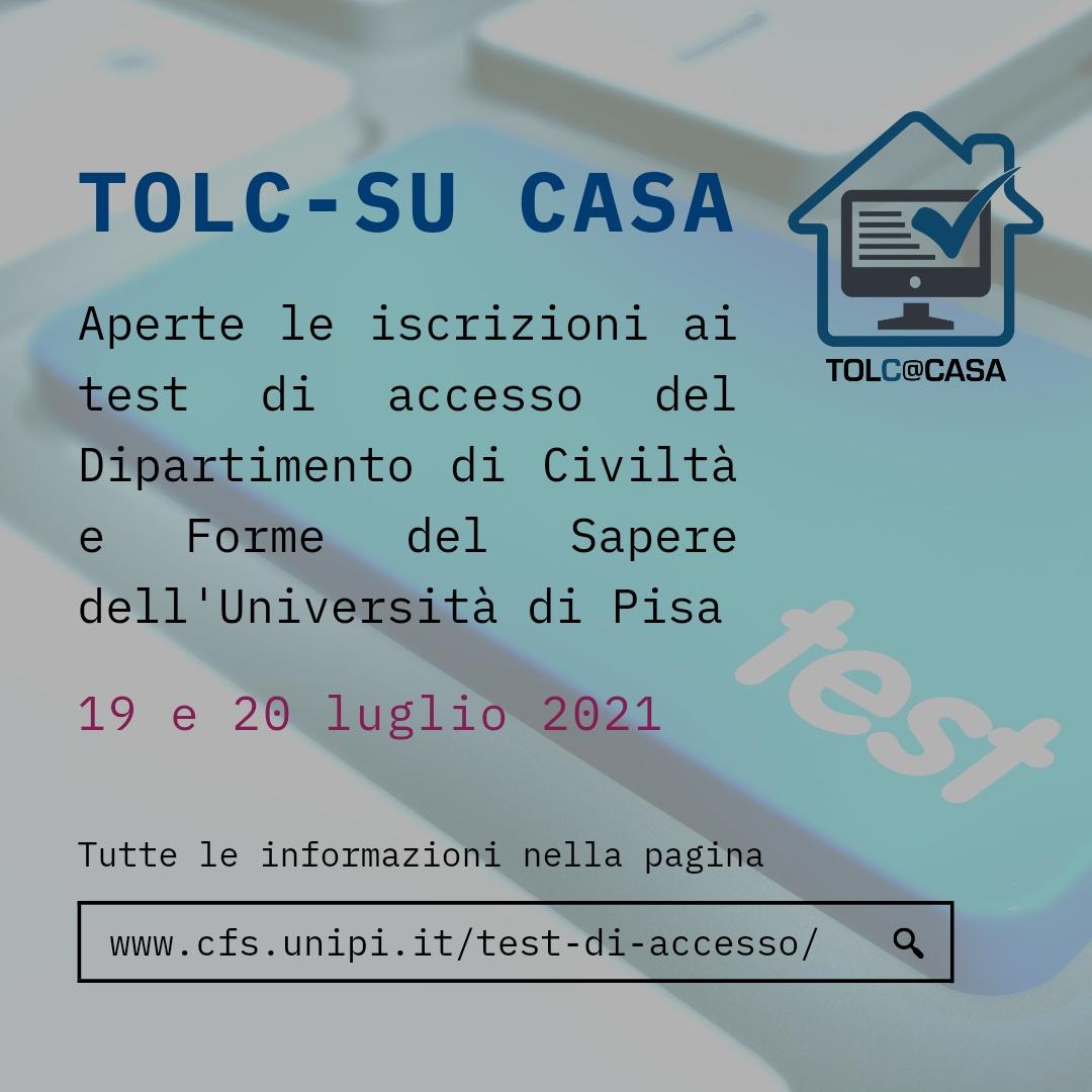 test accesso luglio